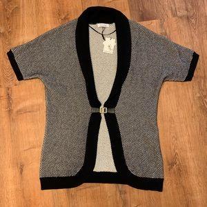 NWT Calvin Klein Gold Buckle Cardigan Size M!!!!!